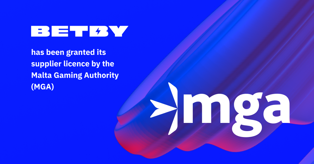 BETBY granted MGA supplier licence