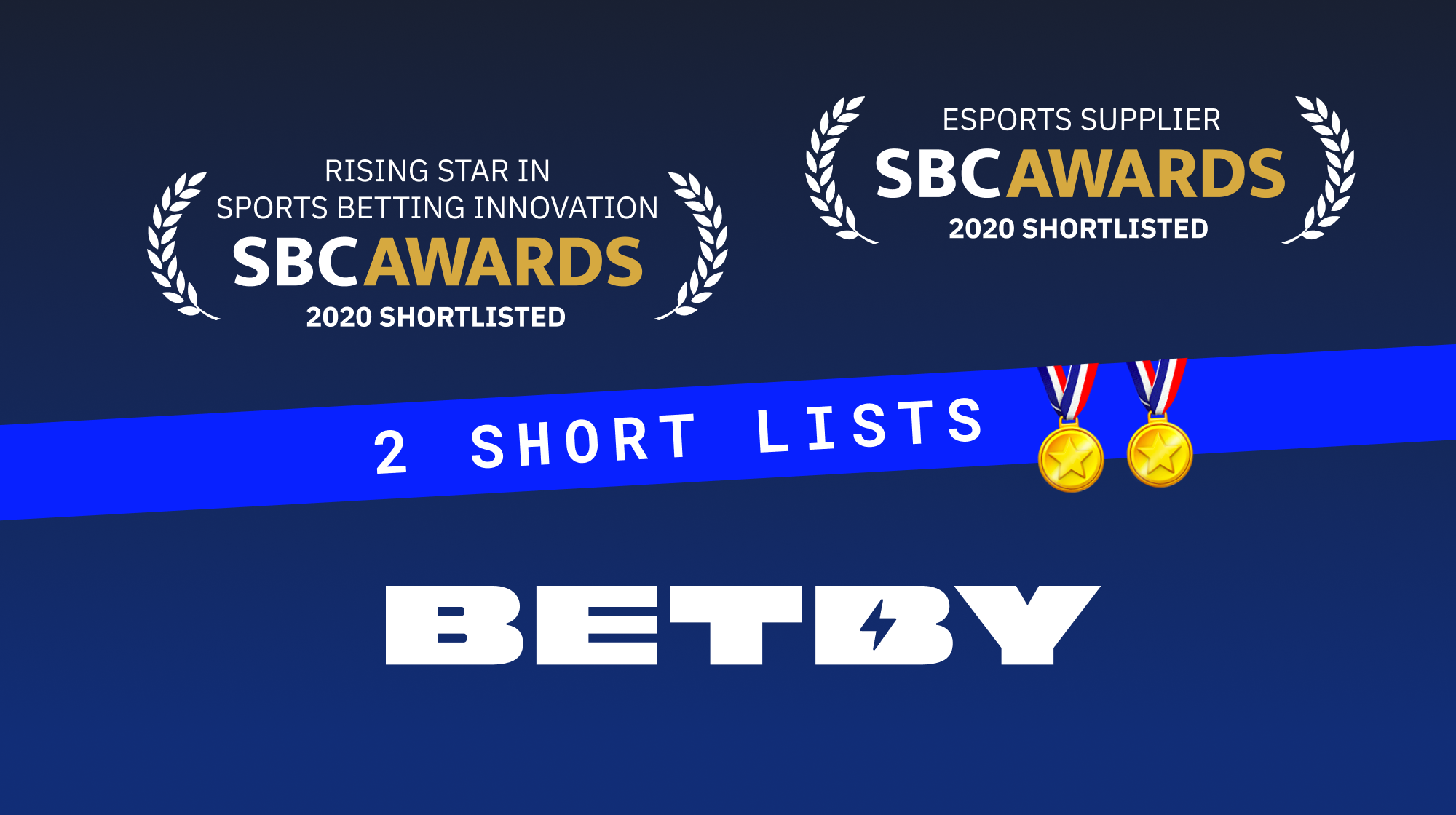 BETBY celebrates double nomination at SBC Awards