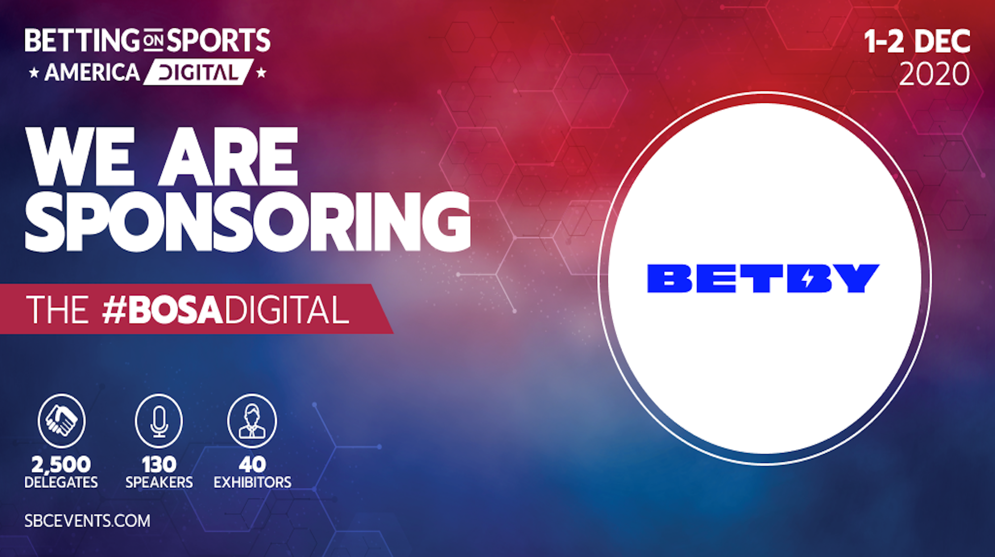BETBY raises US profile with SBC Betting on Sports America sponsorship