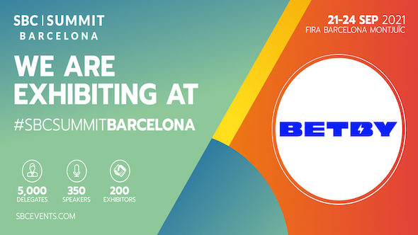 BETBY set to attend the SBC Barcelona Summit 2021