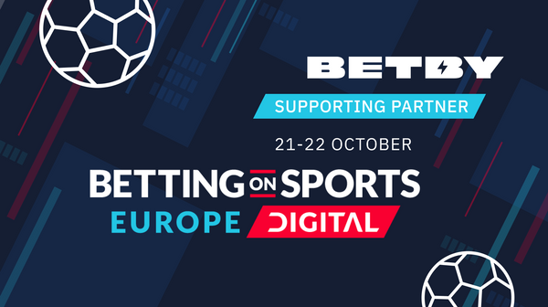 BETBY a sponsor at SBC's Betting on Sports Europe